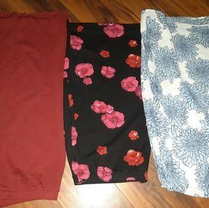 3 skirts